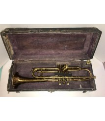 1928 MARTIN TRUMPET WITH MOUTHPIECE #86570 VALVES MOVE FREELY -RARE- !NICE! L@@K