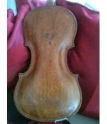 1937 violin with sound holes on side  Custom built