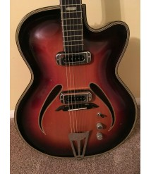 **GREAT PRICE** Musima Record 17 Electric VINTAGE German Archtop Guitar **NICE**